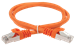 ITK Коммутационный шнур (патч-корд) кат.5E FTP 1,5м оранжевый - фото 62190