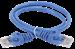 ITK Коммутационный шнур (патч-корд) кат.5E UTP 5м синий - фото 62201