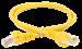 ITK Коммутационный шнур (патч-корд) кат.5E UTP 5м желтый - фото 62203